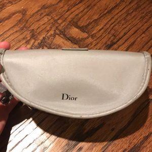 Dior cream sunglasses